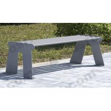 Panchina senza schienale